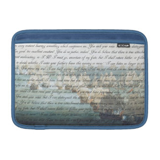 Persuasion Letter Sleeve For MacBook Air