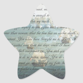 Persuasion Letter Star Sticker