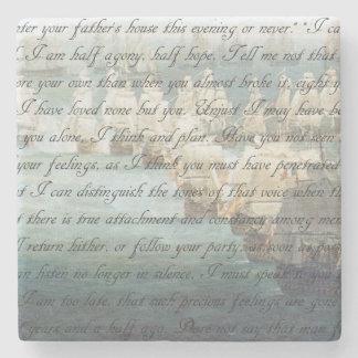 Persuasion Letter Stone Coaster