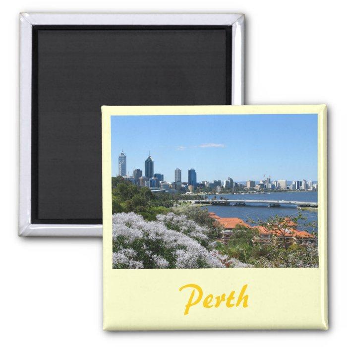 Perth 2 Inch Square Magnet