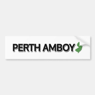 Perth Amboy, New Jersey Bumper Sticker