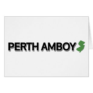 Perth amboy new jersey cards greeting photo cards zazzle perth amboy new jersey card reheart Image collections