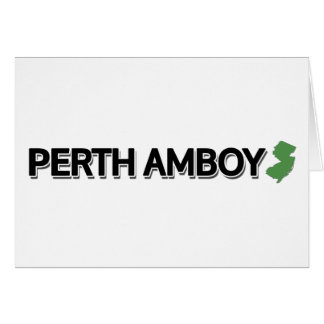 Perth Amboy, New Jersey Card