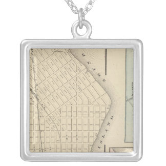 Perth Amboy, NJ Silver Plated Necklace