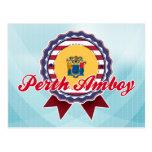 Perth Amboy, NJ Tarjeta Postal