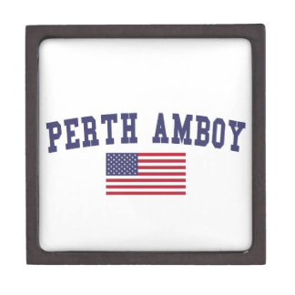 Perth Amboy US Flag Gift Box