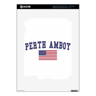 Perth Amboy US Flag iPad 3 Decals