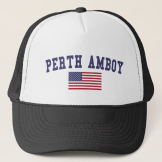 Perth Amboy US Flag Trucker Hat