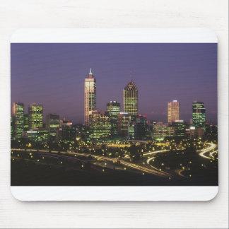 Perth at night mouse pad