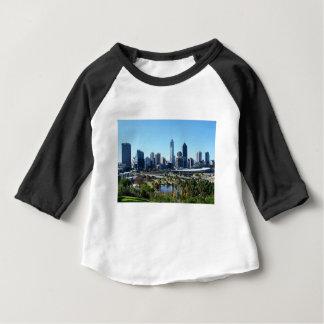 Perth Australia Skyline Baby T-Shirt