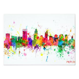 Perth Australia Skyline Card