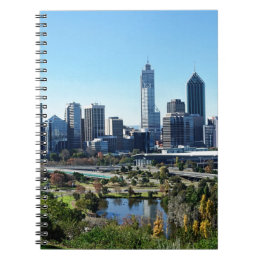 Perth Australia Skyline Notebook