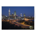 Perth, Australia. View of downtown Perth from Card