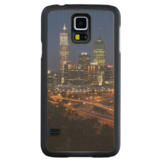 Perth, Australia. View of downtown Perth from Carved® Maple Galaxy S5 Case