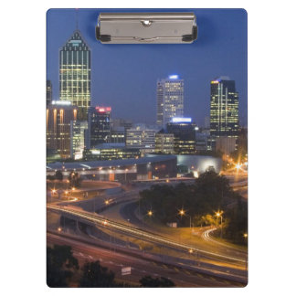 Perth, Australia. View of downtown Perth from Clipboard