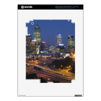 Perth, Australia. View of downtown Perth from iPad 3 Skin