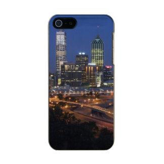 Perth, Australia. View of downtown Perth from Metallic Phone Case For iPhone SE/5/5s