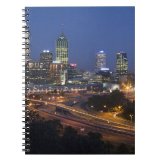 Perth, Australia. View of downtown Perth from Note Book