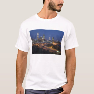 Perth, Australia. View of downtown Perth from T-Shirt