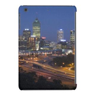 Perth, Australia. Vista de Perth céntrica de Fundas De iPad Mini