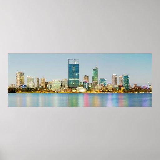 Perth CBD del punto Perth Australia occidental del Impresiones