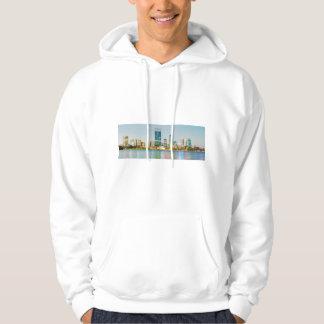 Perth CBD from Mill Point Perth Western Australia Hoodie