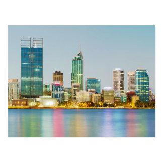 Perth CBD from Mill Point Perth Western Australia Postcard