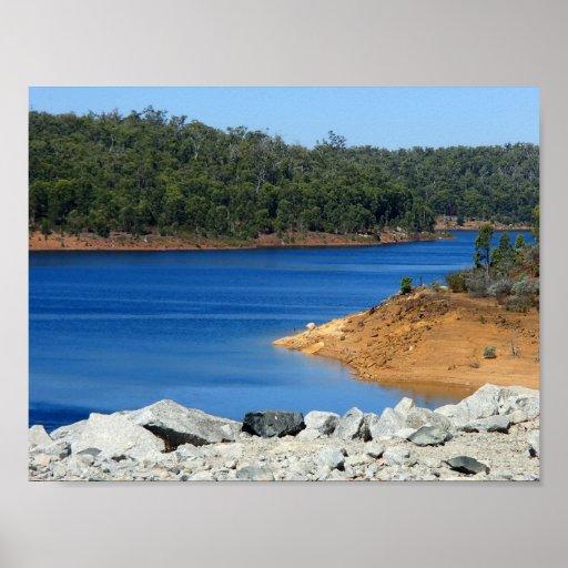 Perth Dam Poster