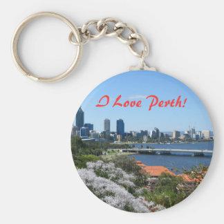 Perth Llavero Redondo Tipo Pin