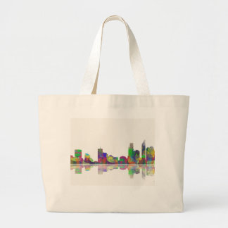 Perth  WA Skyline Large Tote Bag