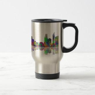 Perth  WA Skyline Travel Mug