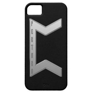 Pertho Rune grey iPhone SE/5/5s Case