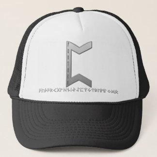 Pertho Rune grey Trucker Hat