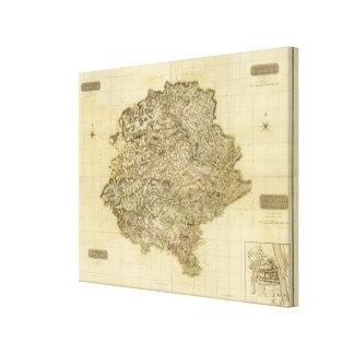 Perthshire compuesto impresión en lona estirada