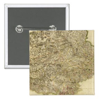 Perthshire compuesto pin cuadrado