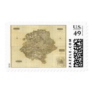 Perthshire compuesto sellos postales