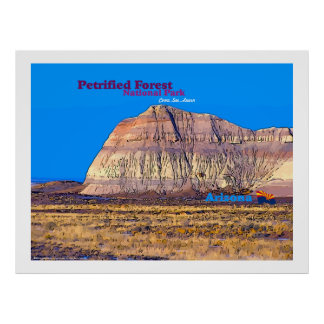 Pertified Forest NP, Arizona poster