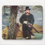 Pertuiset, cazador del león, 1881 tapete de raton