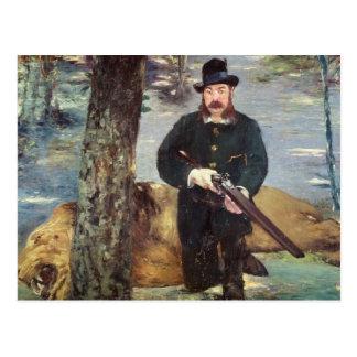 Pertuiset, cazador del león, 1881 postales