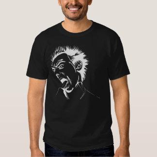Perturbado (negro) camisas
