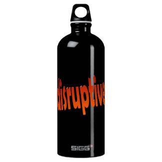 perturbador botella de agua
