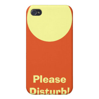 Perturbe por favor 4 iPhone 4 protector