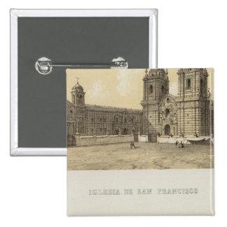 Perú 13 pin cuadrado