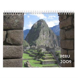 Peru 2009 Calendar
