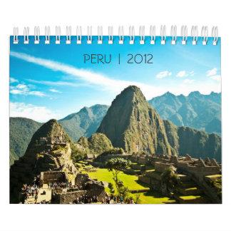 Peru 2012 Calendar