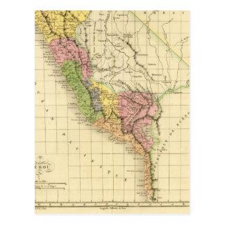 Perú 20 tarjeta postal