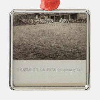 Peru 21 metal ornament