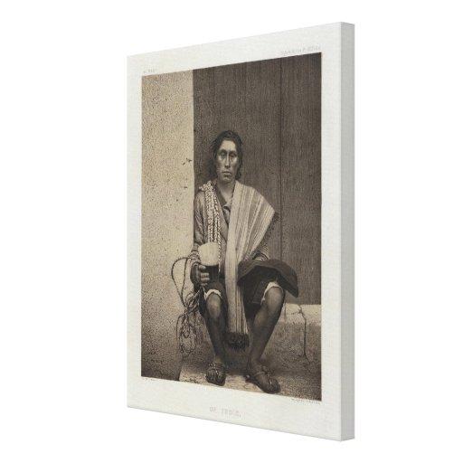Perú 22 impresión en lienzo estirada