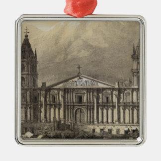Peru 22 metal ornament