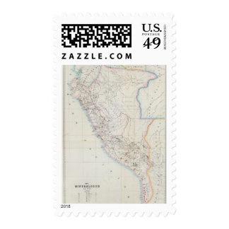 Perú 25 franqueo